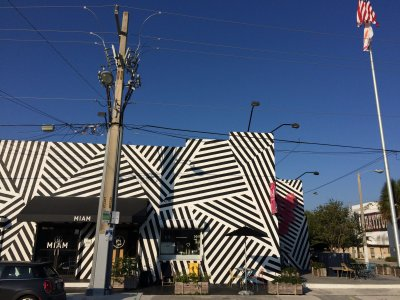 Außenansicht des MIAM in Wynwood, Miami