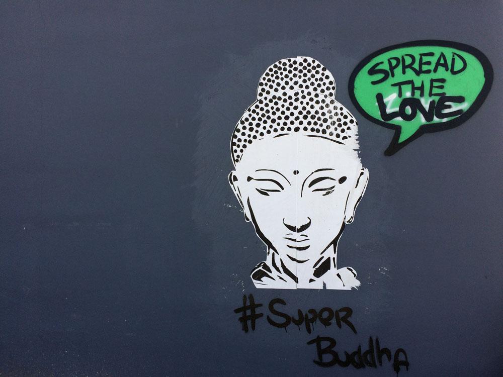 Straßenkunst im Wnywood Art District in Miami, Floria